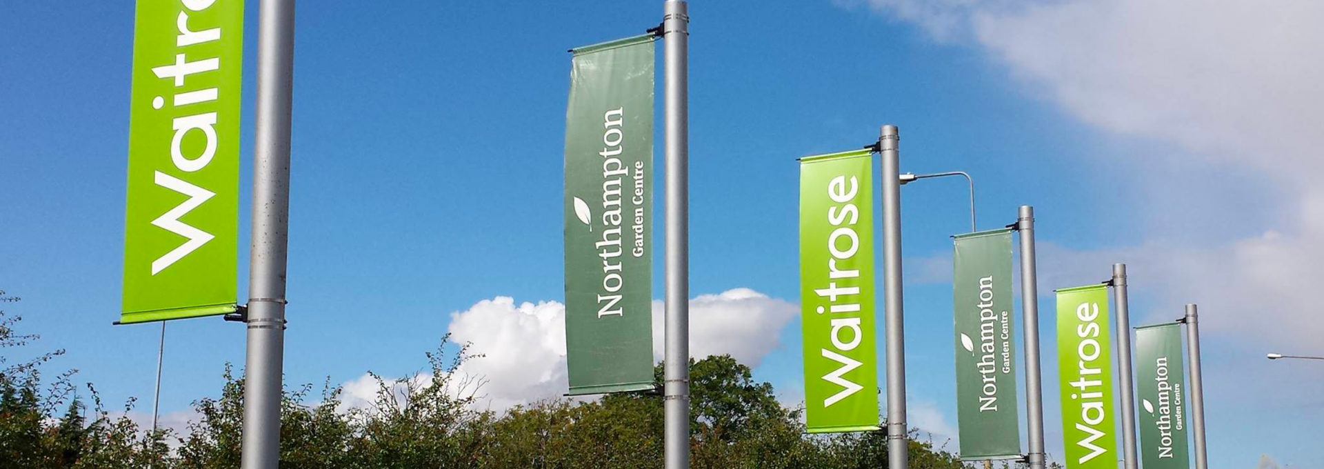 Lampost Banners
